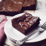 real chocolate brownie