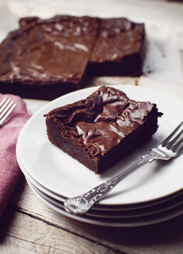 delicious artisan chocolate brownie made with real belgian chocolate