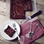 hand made just chocolate brownie