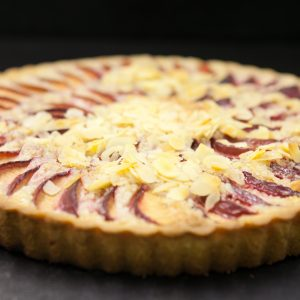 frangipane almond and apple tart
