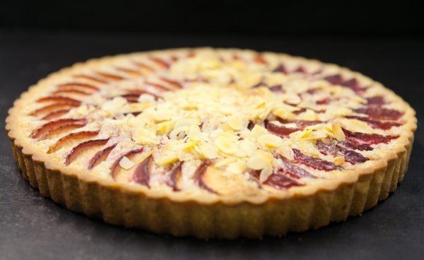 frangipane almond and apple tart