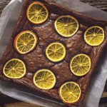 zesty orange brownie