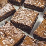 salted caramel banana brownie
