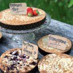 bakewell tart with fruit